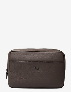 BROUGHT - toiletry bags - grey stone