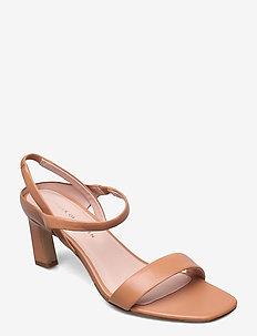 SOTTILINA - højhælede sandaler - cognac