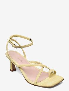 COMODARIA - højhælede sandaler - sand