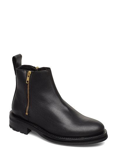 Bonnt Shoes Boots Ankle Boots Ankle Boot - Flat Schwarz TIGER OF SWEDEN   TIGER OF SWEDEN SALE