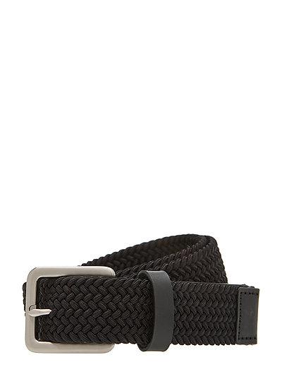 Braidant E Accessories Belts Classic Belts Schwarz TIGER OF SWEDEN