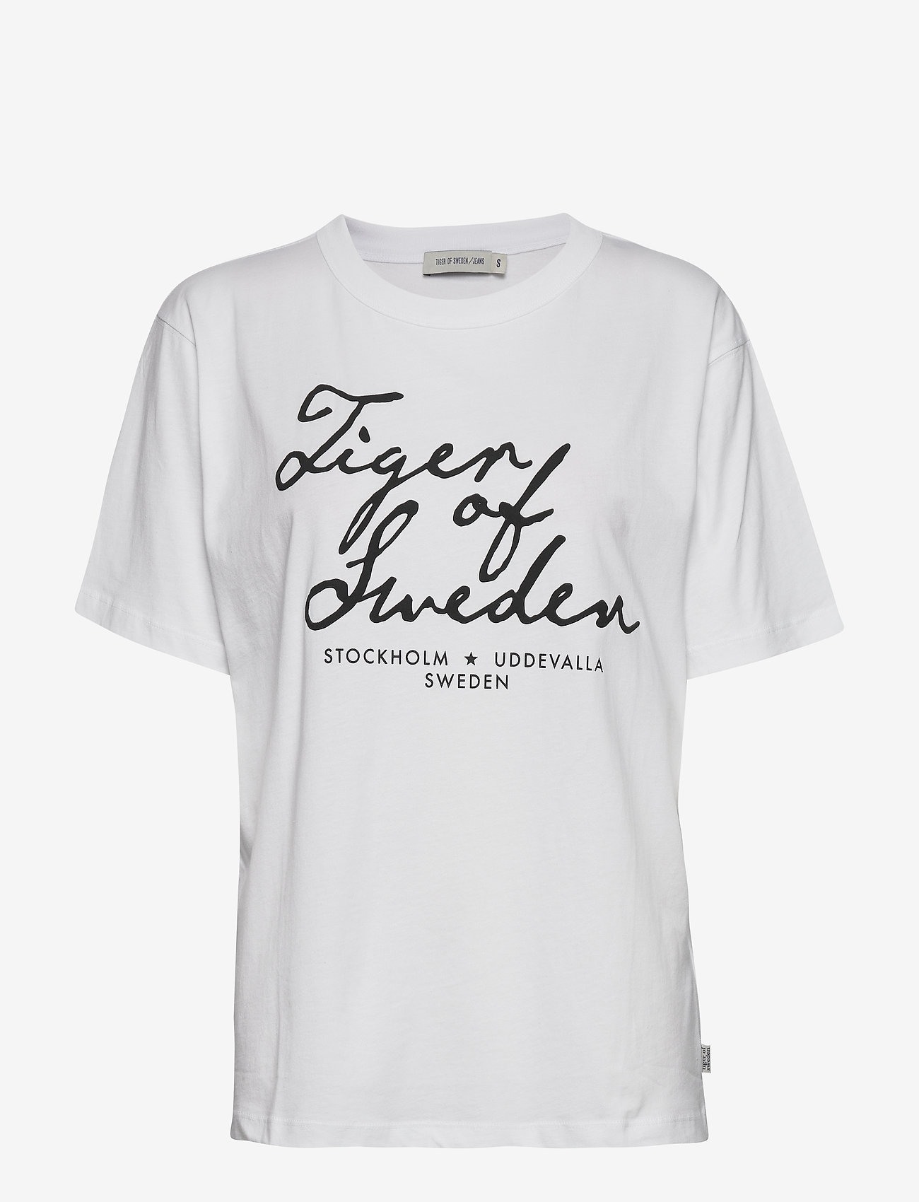 Tiger of Sweden Jeans - STERNA PR - logo t-shirts - white