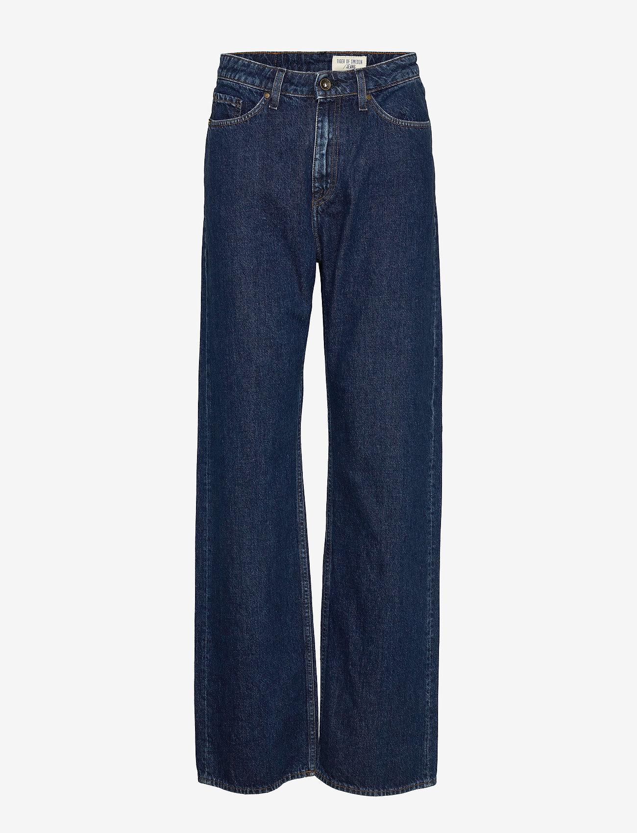 Tiger of Sweden Jeans - LORE - broeken met wijde pijpen - royal blue - 0