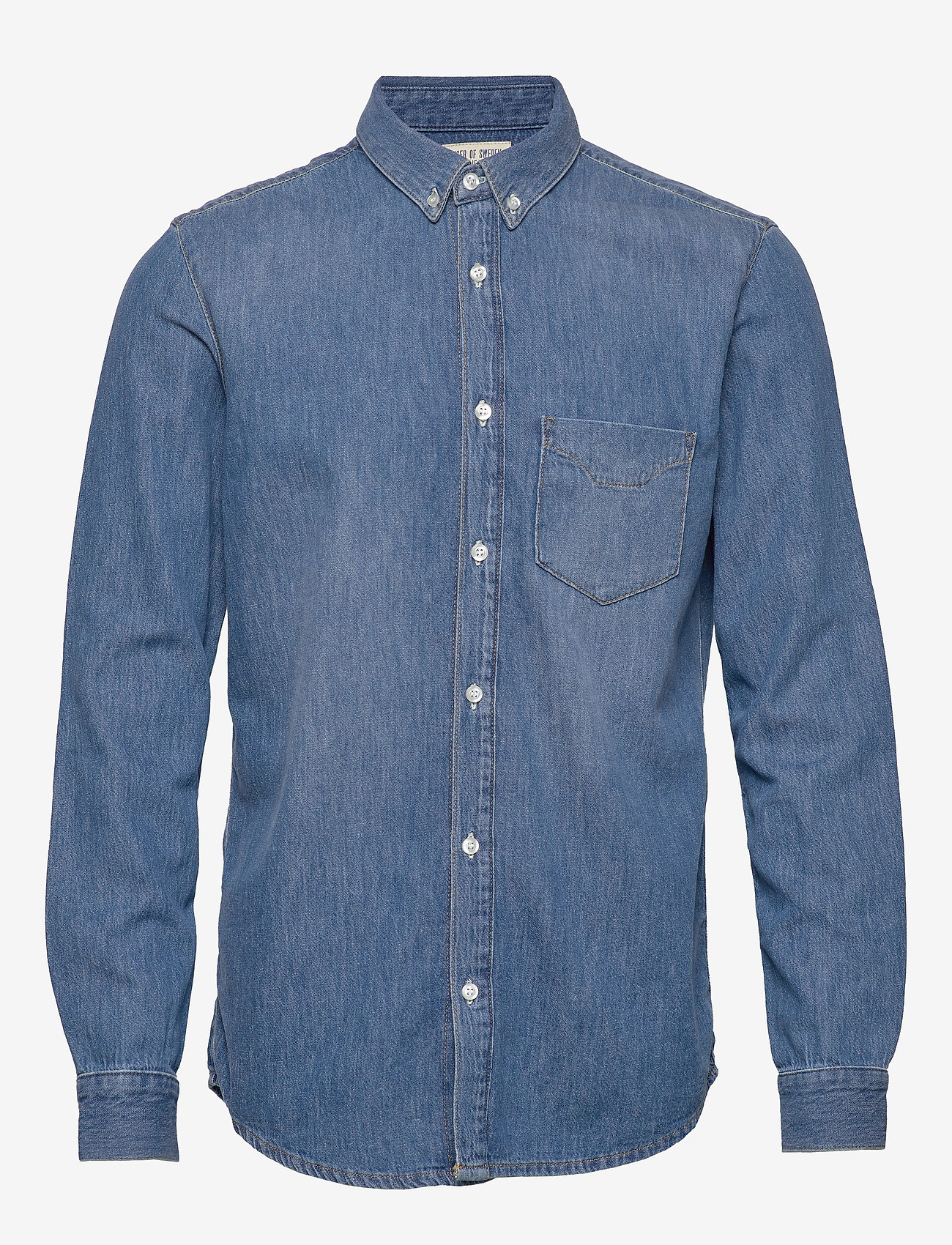 Tiger of Sweden Jeans - RIT - podstawowe koszulki - dust blue - 0