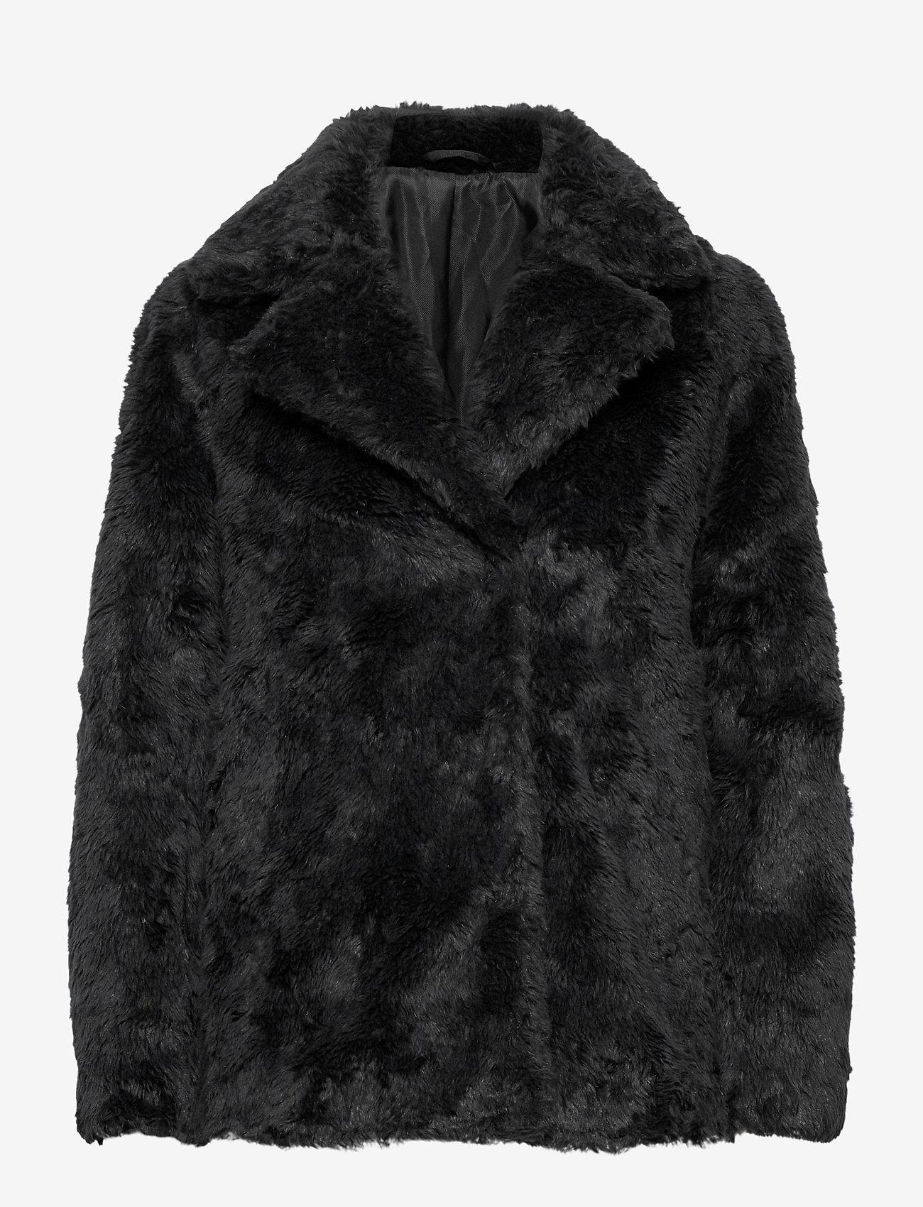 Tiger of Sweden Jeans - STAIJNA - faux fur - black - 0