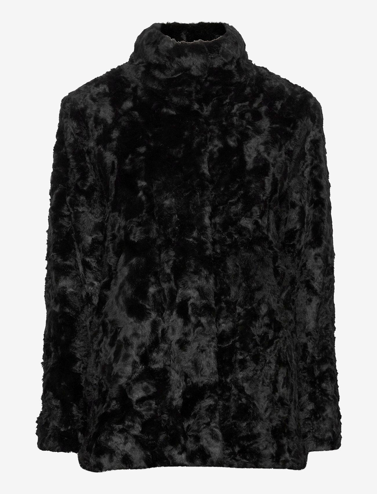 Tiger of Sweden Jeans - MINIMAL. - faux fur - black - 1