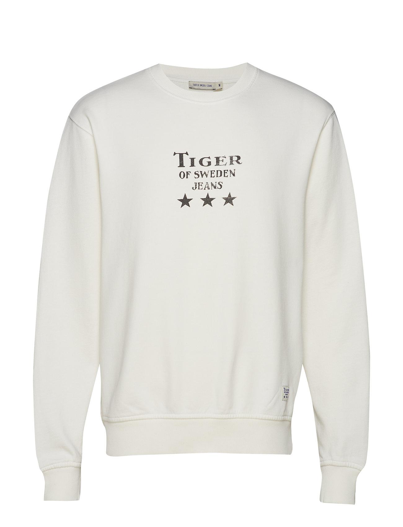 TIGER OF SWEDEN Tana O Sweat-shirt Pullover Weiß TIGER OF SWEDEN JEANS