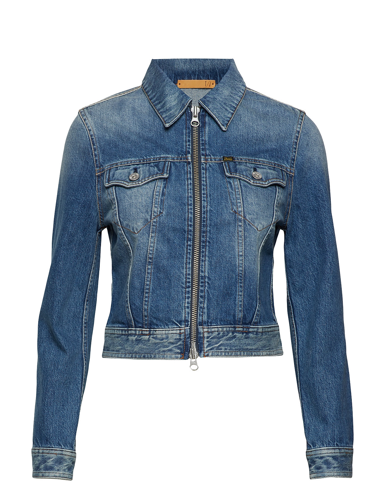 TIGER OF SWEDEN Jacken & Blazer | Truth Zip Jeansjacke Denimjacke Blau TIGER OF SWEDEN JEANS