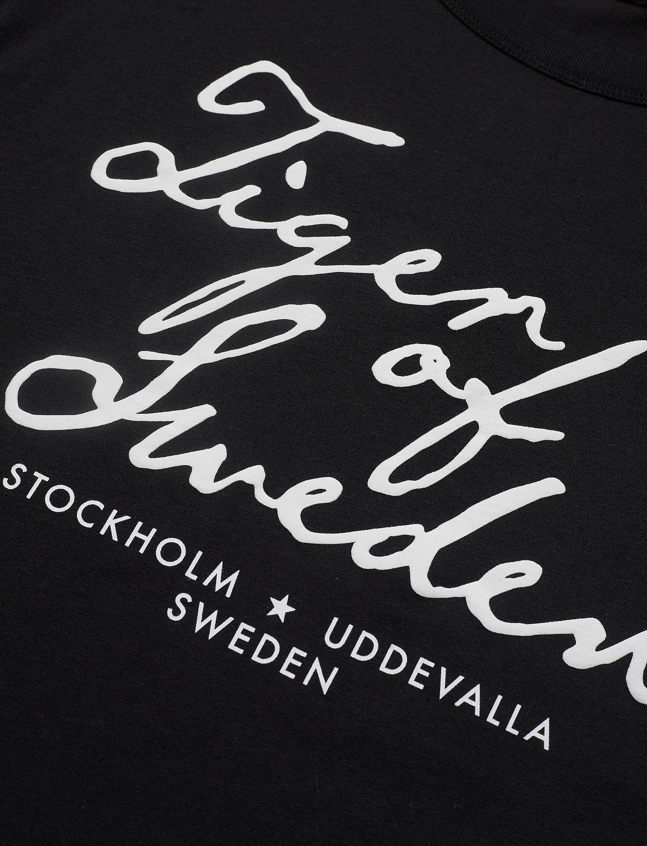 Tiger of Sweden Jeans STERNA PR - T-shirts & topper BLACK - Dameklær Spesialtilbud