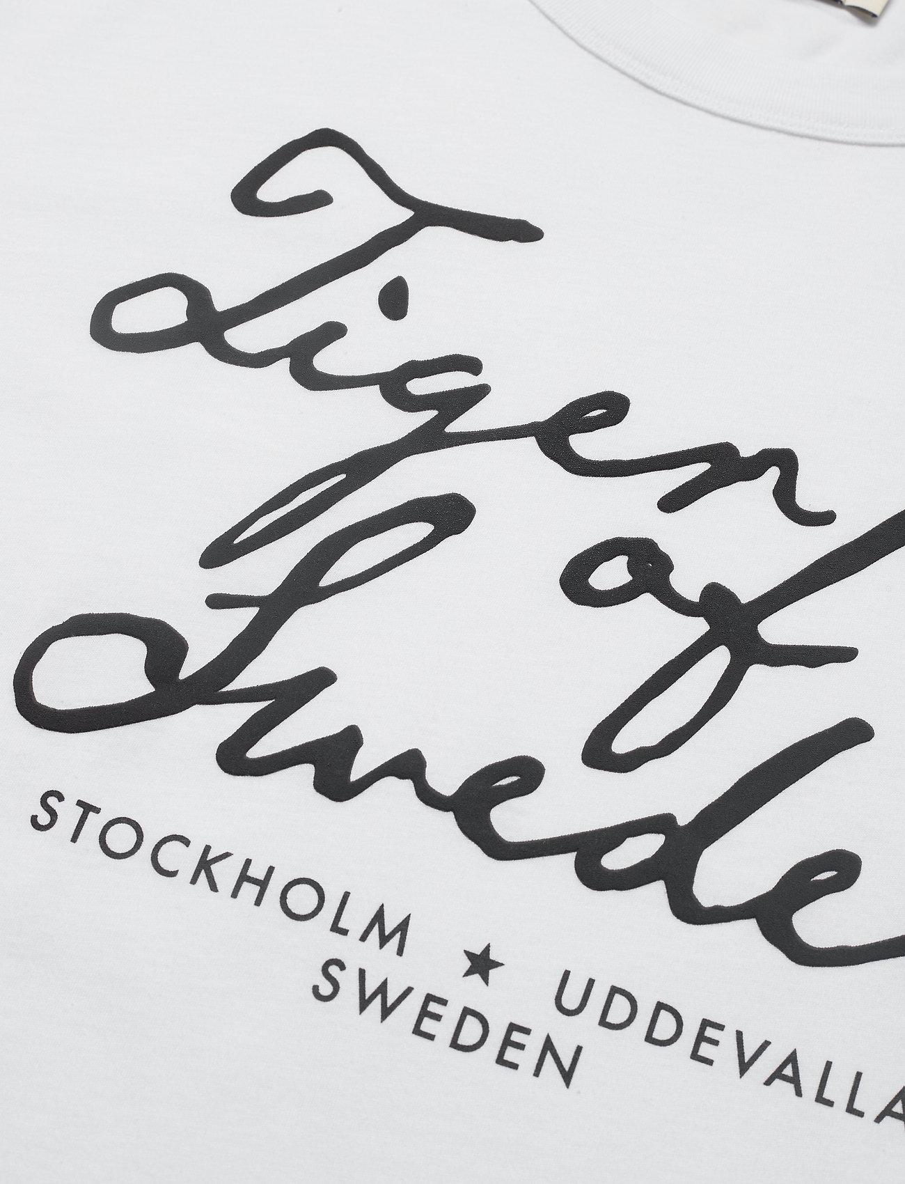 Tiger of Sweden Jeans STERNA PR - T-shirts & topper WHITE - Dameklær Spesialtilbud