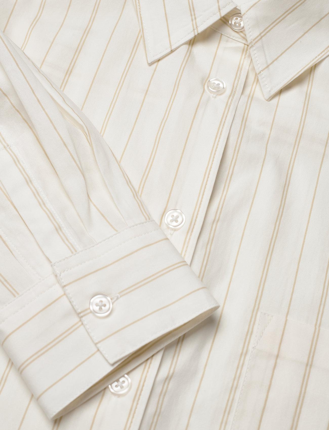 Tiger of Sweden Jeans CADET STR - Kjoler WHITE - Dameklær Spesialtilbud