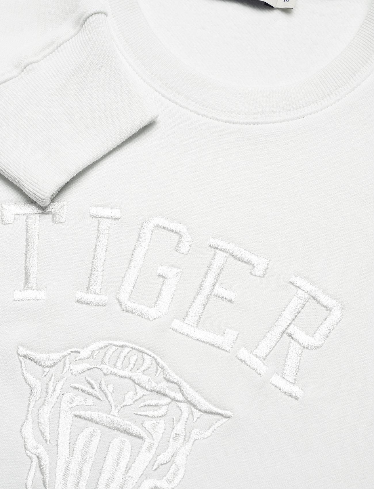 Tiger of Sweden Jeans ZOAB EMB - Sweatshirts WHITE LIGHT - Menn Klær