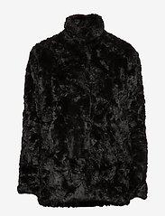 Tiger of Sweden Jeans - MINIMAL. - sztuczne futro - black - 2