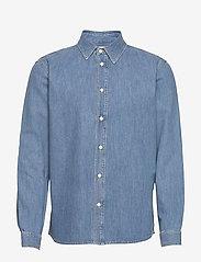 Tiger of Sweden Jeans - PURE NP - podstawowe koszulki - light blue - 1
