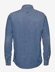 Tiger of Sweden Jeans - RIT - podstawowe koszulki - dust blue - 2