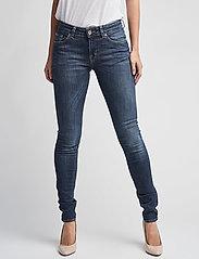 Tiger of Sweden Jeans - SLIGHT - džinsa bikses ar šaurām starām - dust blue - 0