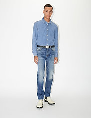 Tiger of Sweden Jeans - PURE NP - podstawowe koszulki - light blue - 0