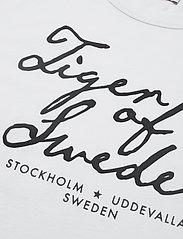 Tiger of Sweden Jeans - STERNA PR - logo t-shirts - white - 2