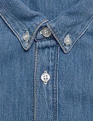 Tiger of Sweden Jeans - RIT - podstawowe koszulki - dust blue - 3
