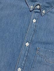 Tiger of Sweden Jeans - RIT - podstawowe koszulki - dust blue - 4