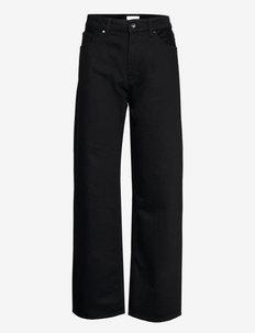 LETTY - hosen mit weitem bein - black