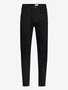 ALY - straight jeans - black
