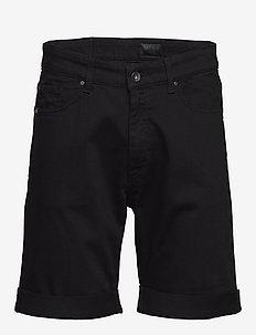 ASH.. - denim shorts - black