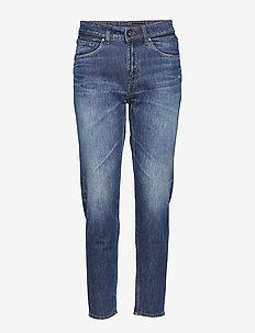 LEA - proste dżinsy - medium blue