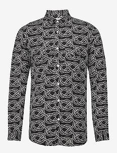 SID R - casual overhemden - print
