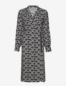 FATHOM P - wrap dresses - print