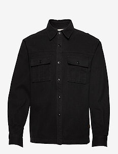 LUCO - overshirts - black