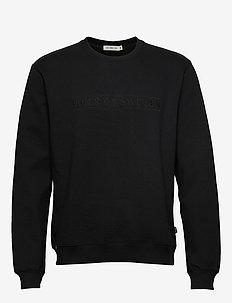 TANA EMB - basic sweatshirts - black