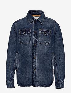 GET - jeansjacken - medium blue
