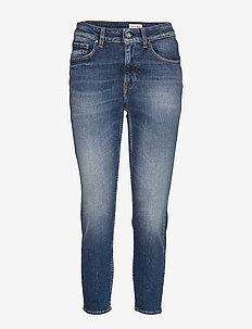 LEA - slim jeans - medium blue