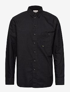 GUNTHER - basic skjorter - black