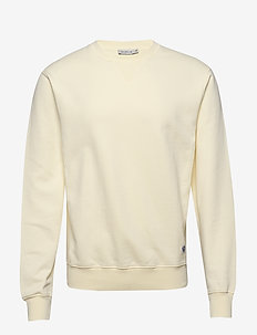 DENIZ - basic-sweatshirts - pale yellow