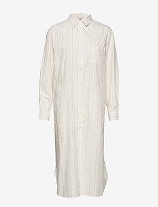 CADET STR - shirt dresses - white