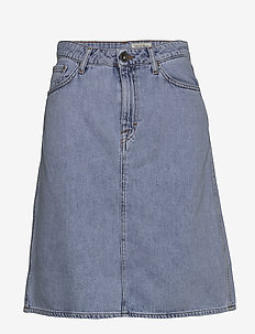 LIZ - denim skirts - light blue
