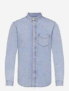 RIT - basic overhemden - light blue