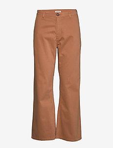 EIRIA 2 - wide leg trousers - fenugreek