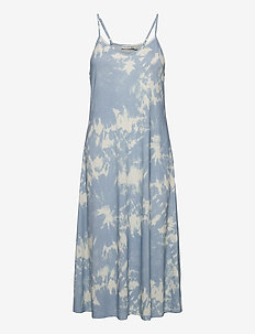 DAMONA AOP - midi kjoler - print
