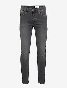 LEON - relaxed jeans - black
