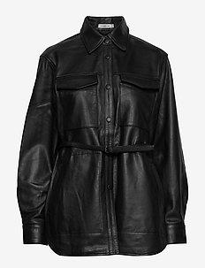 BLINDIE - leather jackets - black