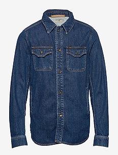 GET - kurtki dżinsowe - royal blue