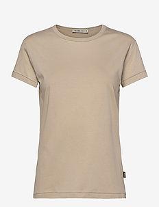 SANJA - t-shirts - sand