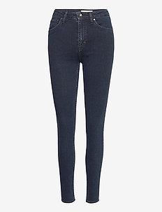 SHELLY - jeans skinny - black blue