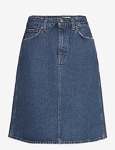 LIZ - denim skirts - royal blue