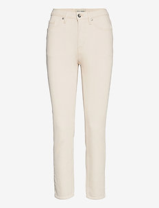 MEG - straight jeans - ecru denim