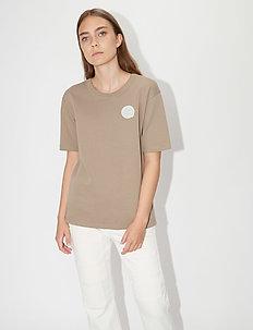 STERNA - logo t-shirts - sand