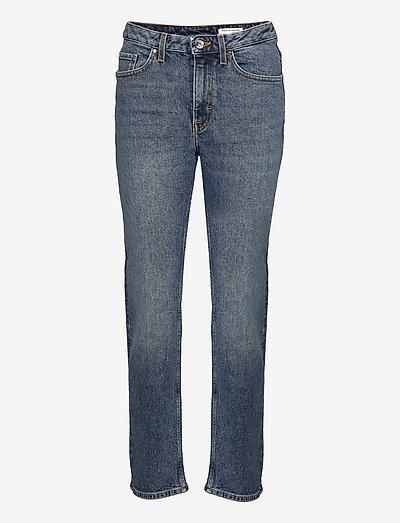 MEG - straight jeans - dust blue